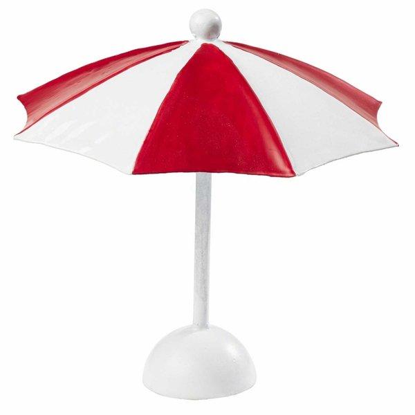 HobbyFun Sonnenschirm rot-weiß