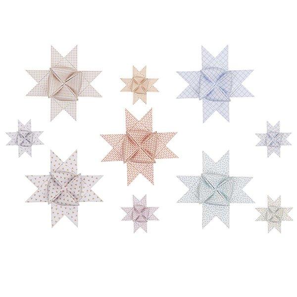 Paper Poetry Fröbelstreifen Graphic pastell-metallic 40 Stück