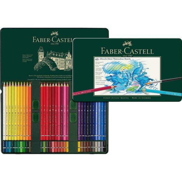 Faber Castell Albrecht Dürer Metalletui 60teilig