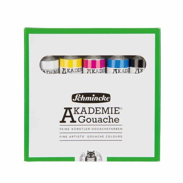 Schmincke Akademie Gouache Kartonset 5x20ml