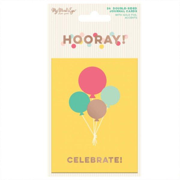 MyMindsEye Hooray - Journal Cards