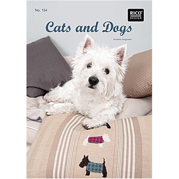Rico Design Stickbuch Cats & Dogs Nr.134