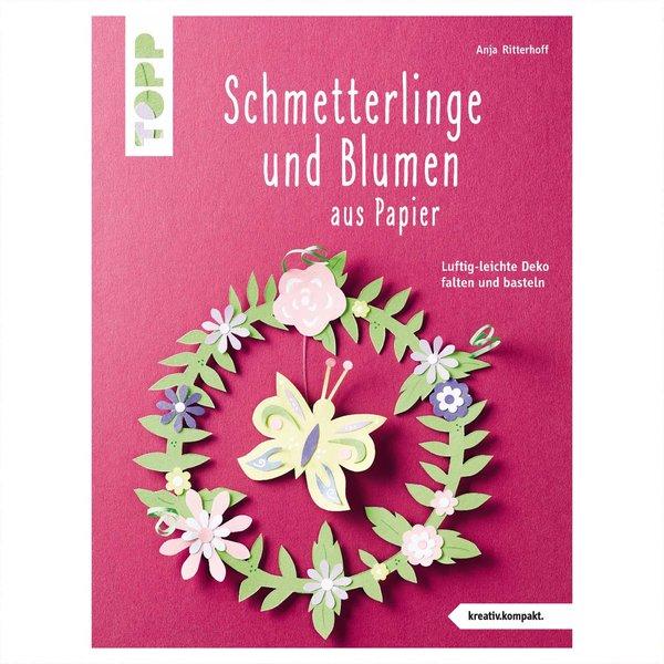 TOPP Schmetterlinge und Blumen aus Papier