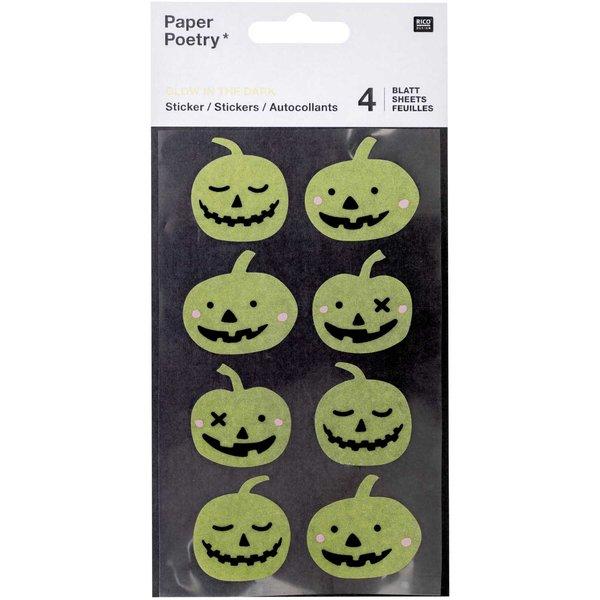 Paper Poetry Washi-Sticker Kürbisse