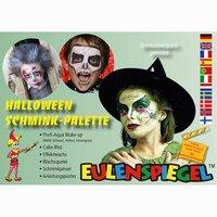 Eulenspiegel Schminkpalette Halloween