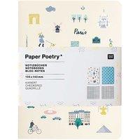 Paper Poetry Notizbücher Travel the World A6 40 Seiten 2 Stück