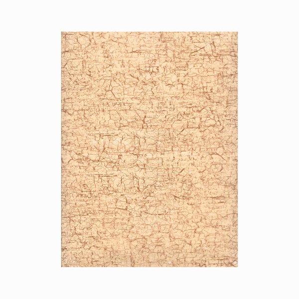 décopatch Papier crackle beige 3 Bogen
