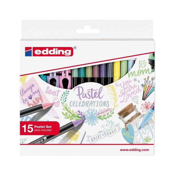 edding Pastel Celebrations 15 Stifte