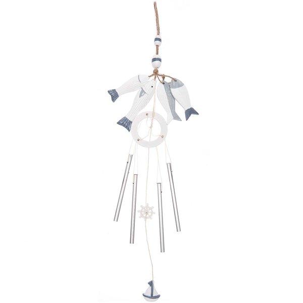 Ohhh! Lovely! Windspiel maritim blau-weiß 60cm