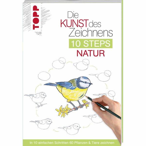 TOPP Die Kunst des Zeichnens 10 Steps: Natur