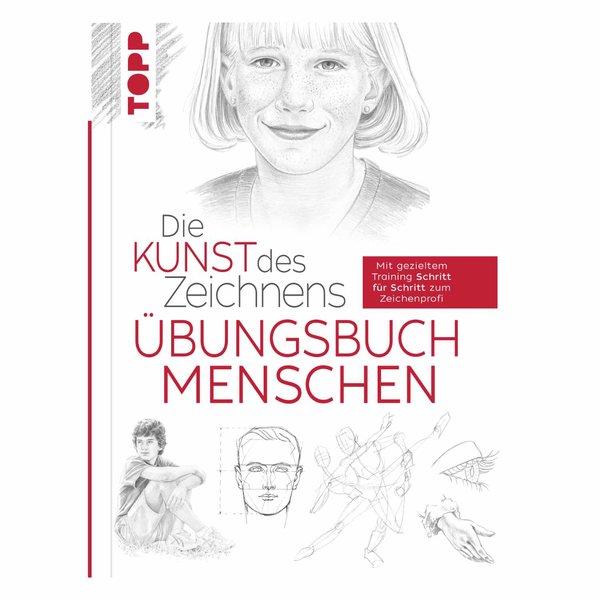 TOPP Die Kunst des Zeichnens Übungsbuch - Menschen