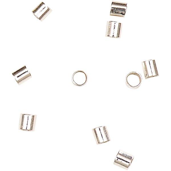 Jewellery Made by Me Quetschröhrchen 1,5mm 925er Silber 20 Stück