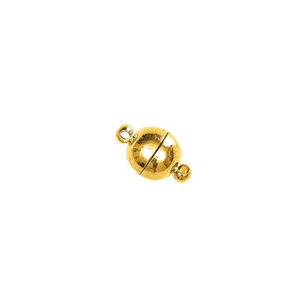 Jewellery Made by Me Magnetverschluß rund gold 8mm