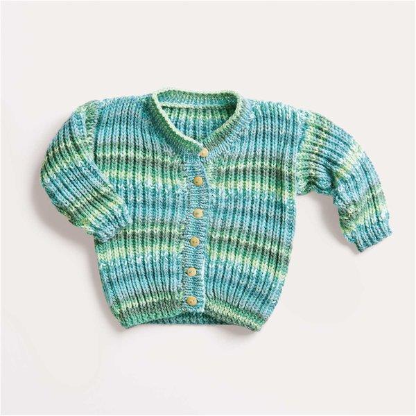 Strickset Jacke Modell 02 aus Baby Nr. 32