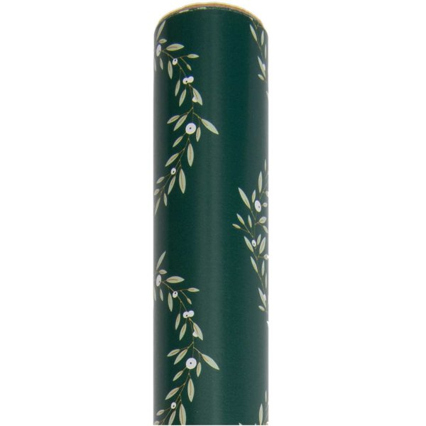 Paper Poetry Geschenkpapier Kränze grün 70cm 2m 70g/m²