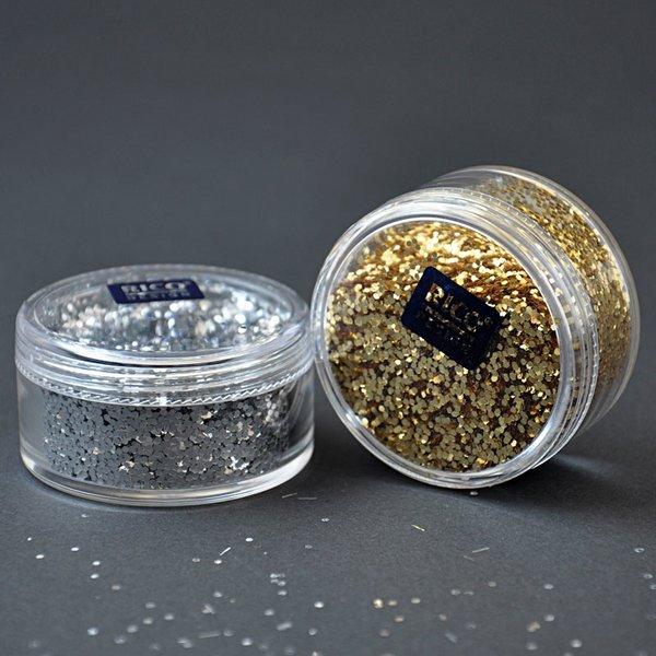 Rico Design Glitter große Flakes 17g
