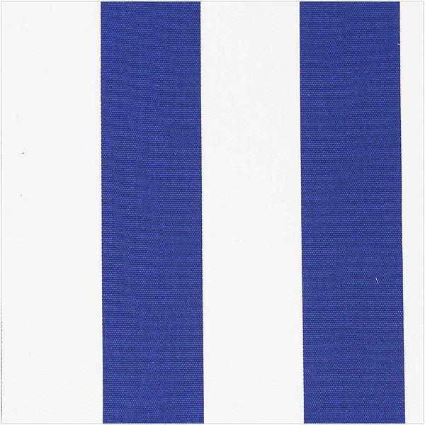 Rico Design Druckstoff Canvas  Streifen blau-weiß 50x140cm