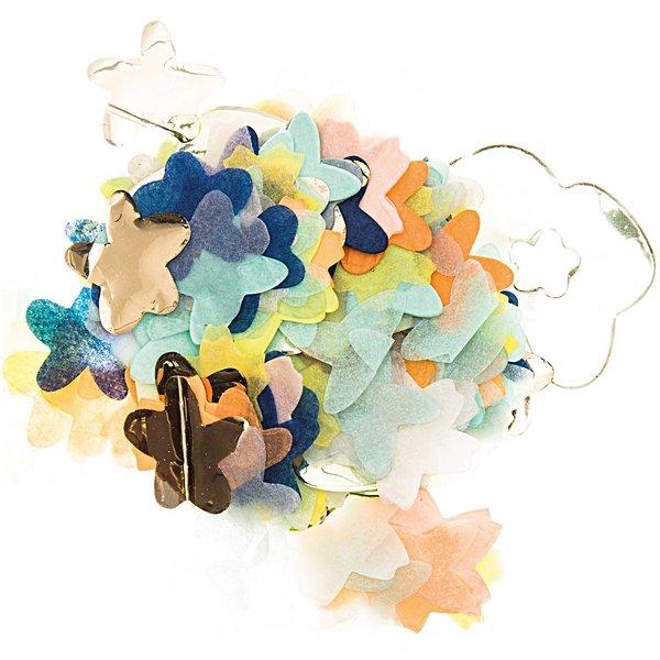 YEY! Let's Party Konfetti Blüten blau Mix 20g