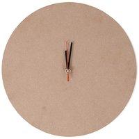 Rico Design MDF Uhr mit Uhrwerk Ø=29cm