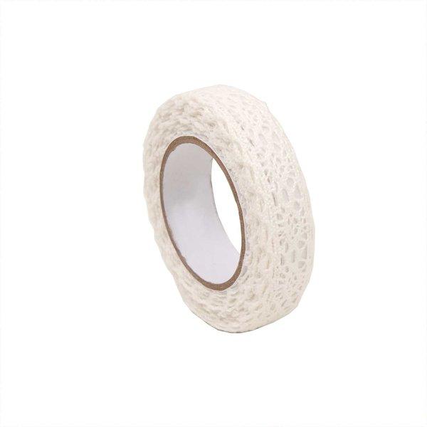Rico Design Tape Borte 2 weiß 15mm 2,5m selbstklebend