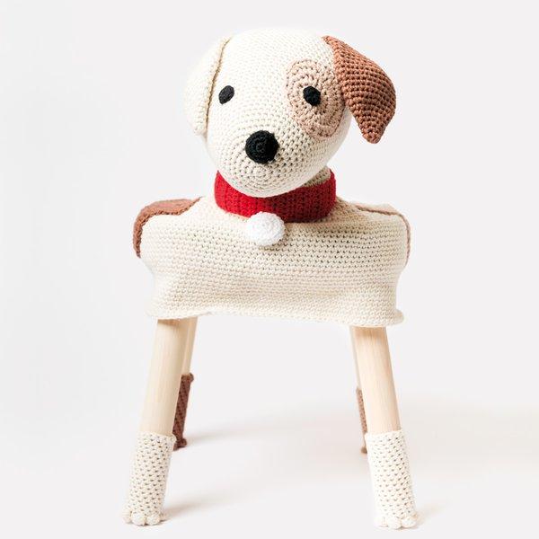 "Rico Design Häkelset Stool Cover Hund ""Tommy"""