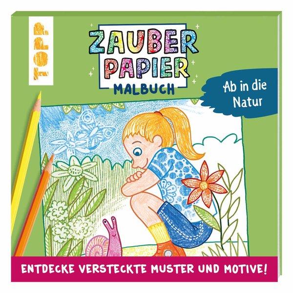 TOPP Zauberpapier Malbuch - Natur