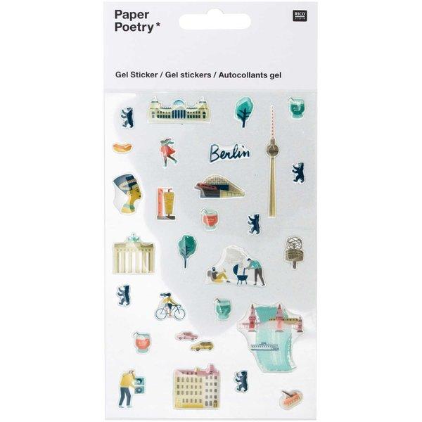 Paper Poetry Gelsticker Berlin