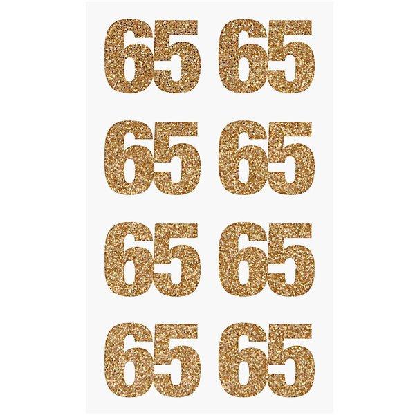 Paper Poetry Glittersticker 65 gold