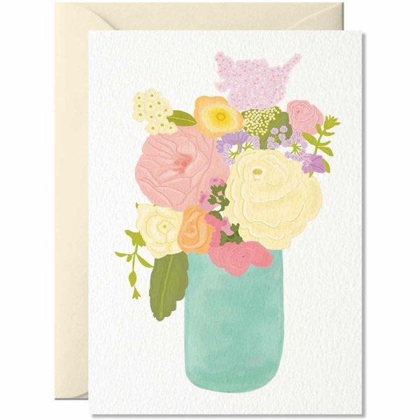 Nelly Castro Grußkarte Flores 14,8x10,5cm