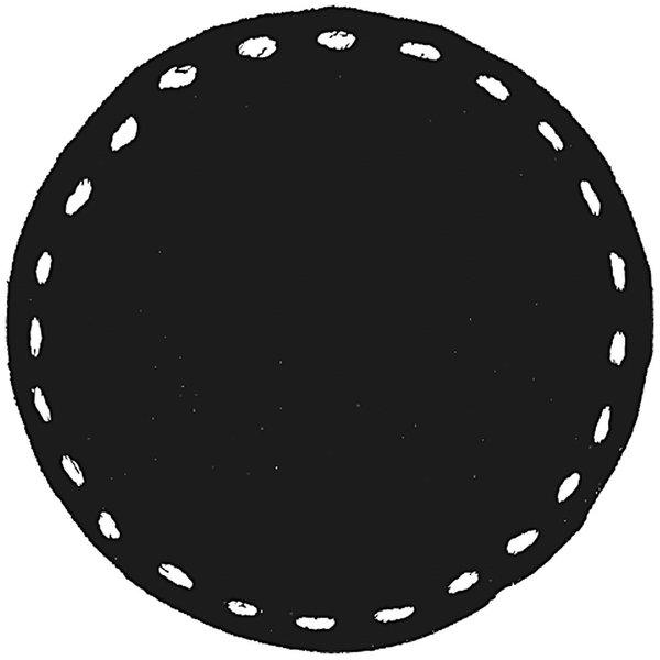 Rico Design Stempel rund blanko-Stich 3,5cm