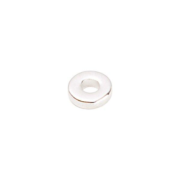 Rico Design Scheibe rund silber 10mm 20 Stück