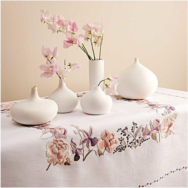Rico Design Stickpackung Decke Tulpen und Orchideen 95x95cm