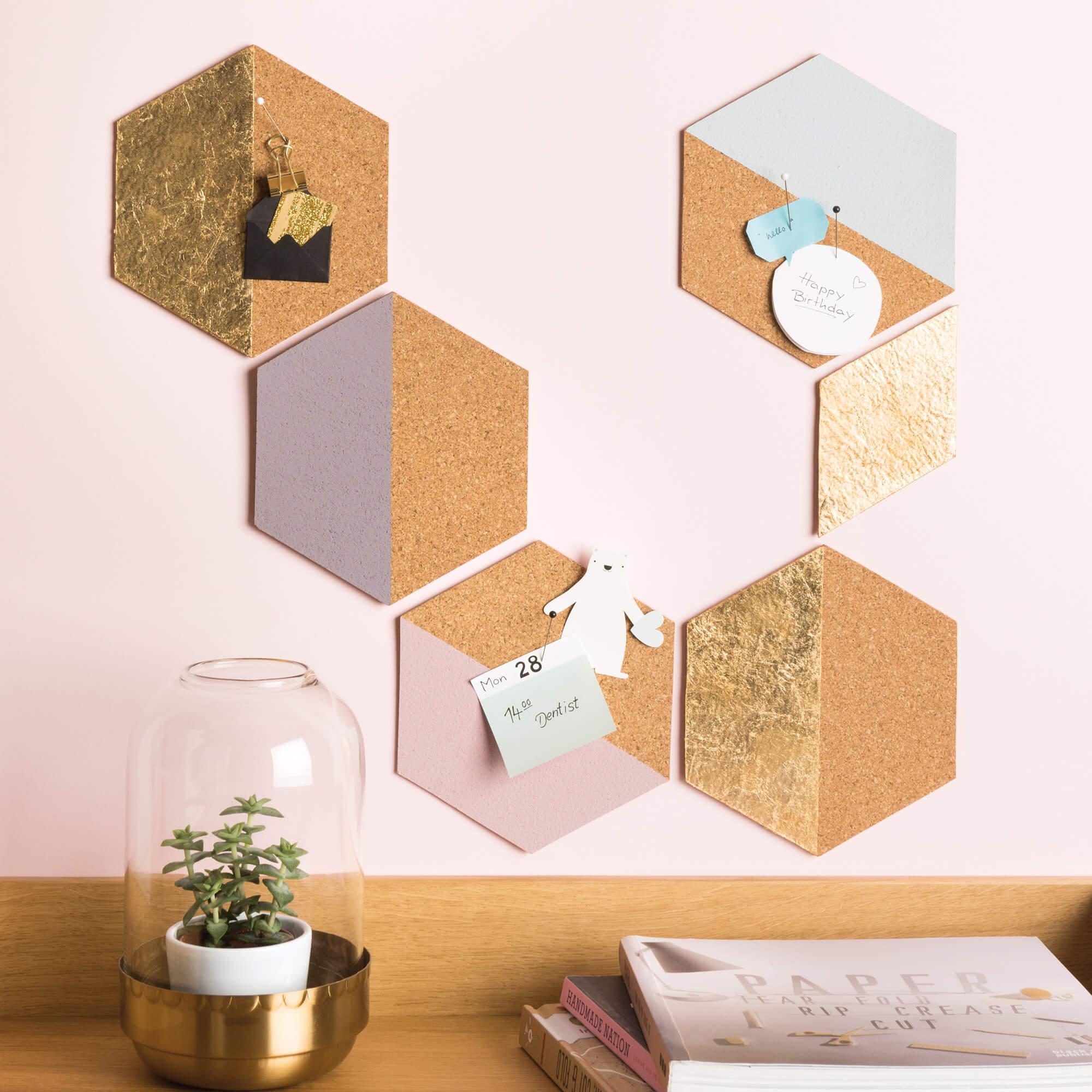 Pinnwand & Pinnwand aus Kork selber basteln » Gratis Anleitung