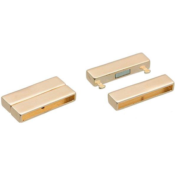 Rico Design Magnetverschluss gold 39,6x20mm