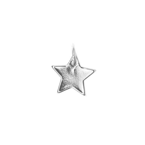 Mix it Up - Jewellery Stern Anhänger silber Ø10mm