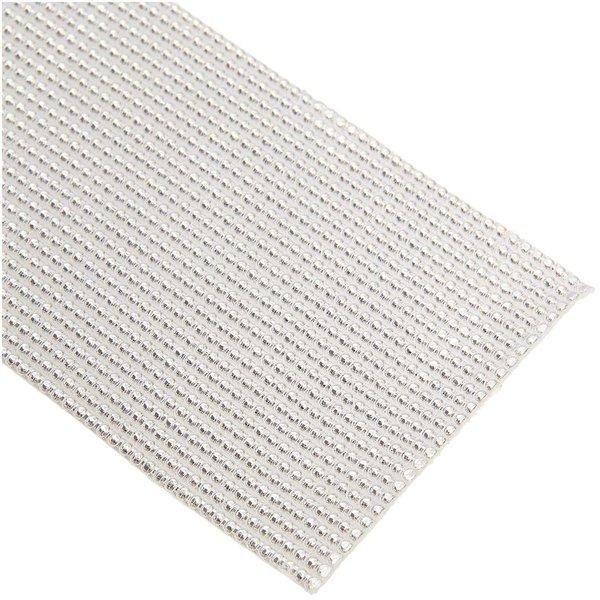 efco Wachsstreifen Perle silber 20cm 27 Stück