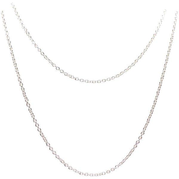 Jewellery Made by Me Gliederkette 2fach silber 55cm