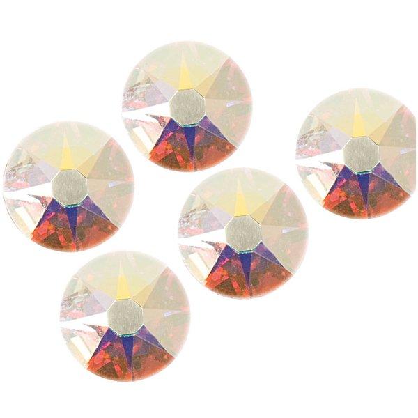 Swarovski® Klebesteine crystal AB 6mm 5 Stück
