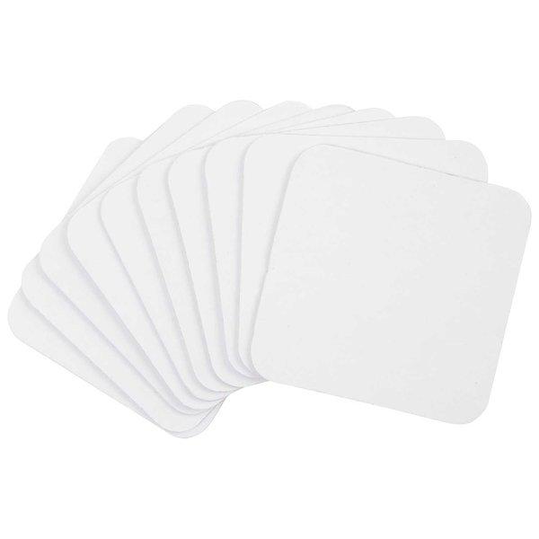 Rico Design Bierdeckel weiß 10 Stück