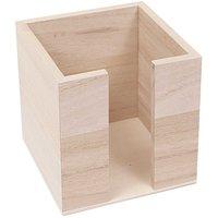 Rico Design Notizzettelbox 10,5x10,5x10,5cm