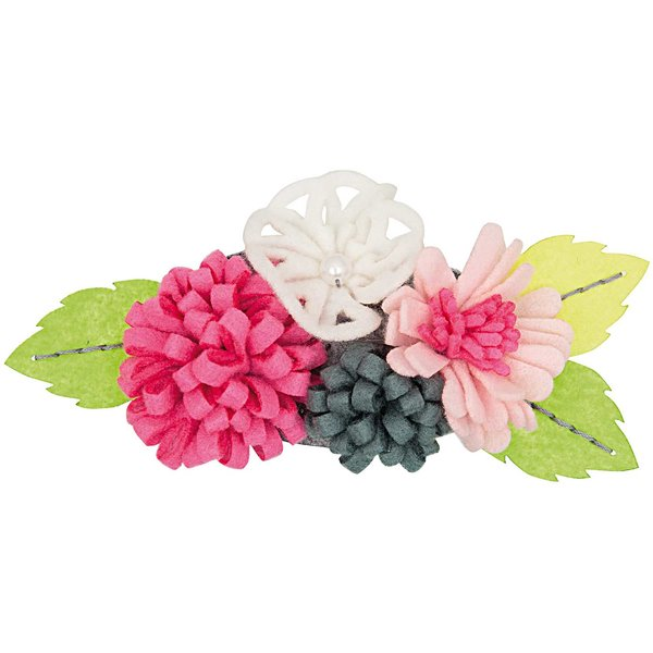 Rico Design Bastelpackung Blütenbouquets pink-weiß groß