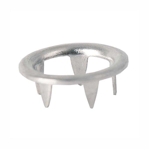 Rico Design Druckknopf schwarz-weiß 12mm 12 Stück