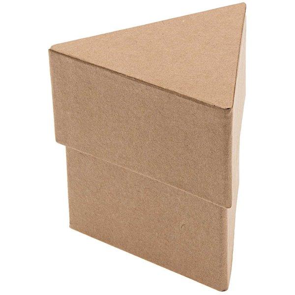 Rico Design Pappbox dreieckig klein 10x10x10cm