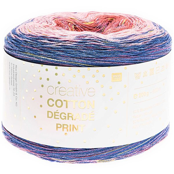 Rico Design Creative Cotton Dégradé Print 200g 800m