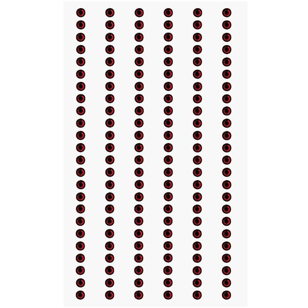 Paper Poetry Strass-Sticker rot 3mm