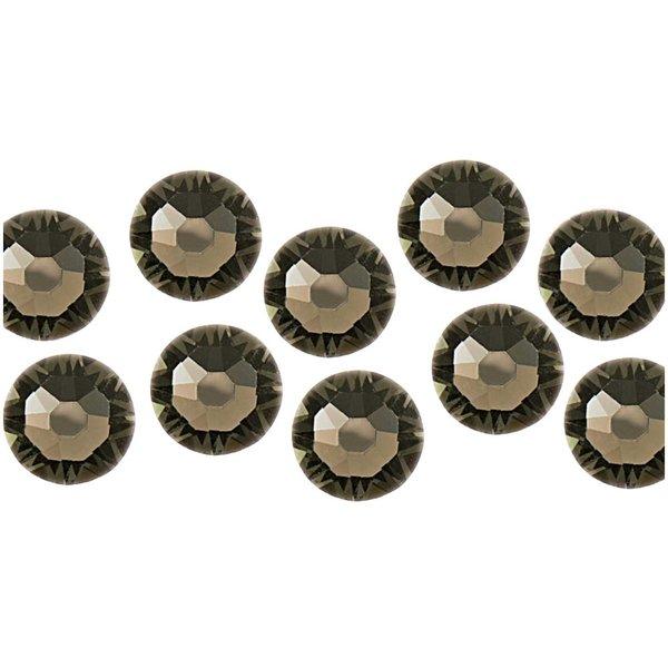 Swarovski® Klebesteine black diamond 4mm 10 Stück