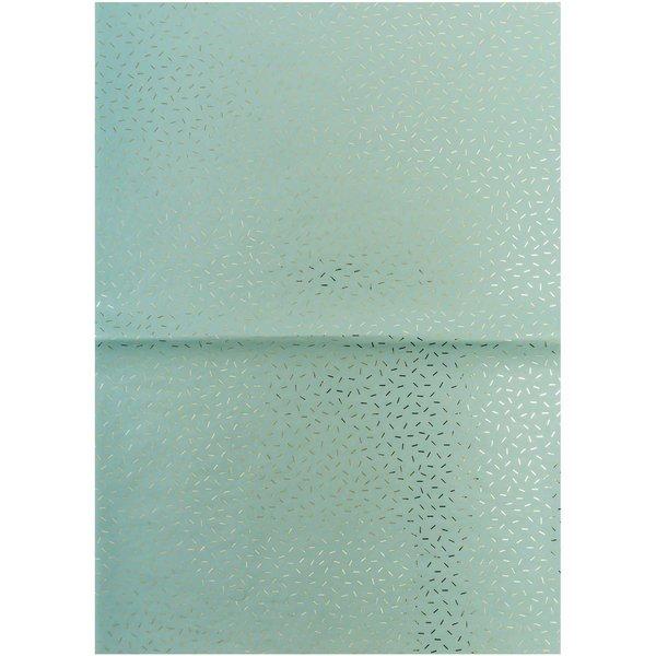 Rico Design Paper Patch Papier Wonderland mint Stracciatella 30x42cm