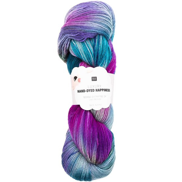 Rico Design Luxury Hand-Dyed Happiness dk 100g 390m