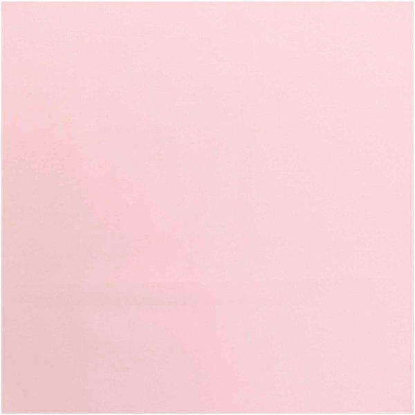 Rico Design Stoffabschnitt Baumwollstoff uni rosé 50x140cm