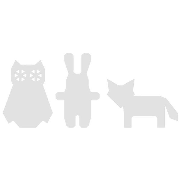 Rico Design Cardboard Set Tiere 6 Stück